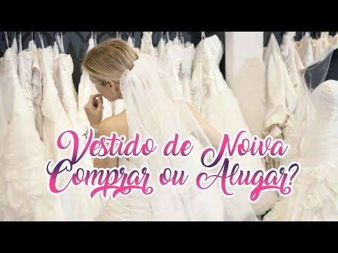Vestido de Noiva: Comprar ou Alugar?!