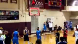 Zach LaVine Throws Down Free Throw Line WINDMILL at Seattle Pro-Am!