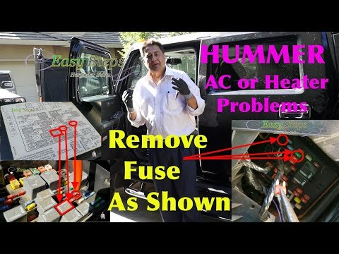 How to Fix AC Blowing Hot and Cold Air | HUMMER | AC or Heater Temperature Problems