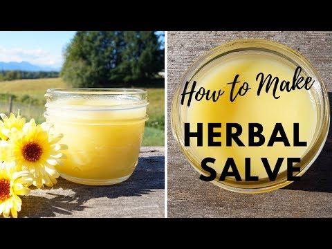 DIY Salve   Healing Herbal Remedies