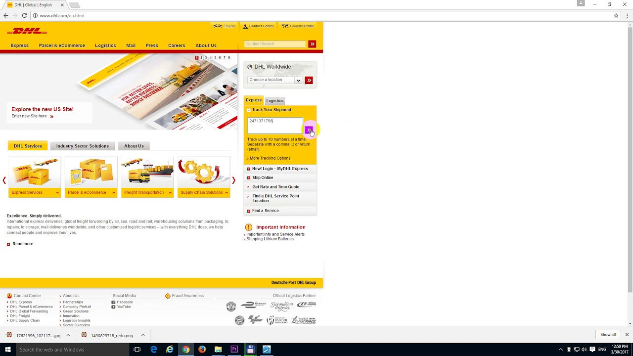 Dhl Tracking Issues
