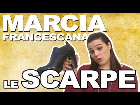 Marcia francescana... le scarpe!