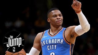Warriors think russell westbrook is easy to defend?   the jump   espn