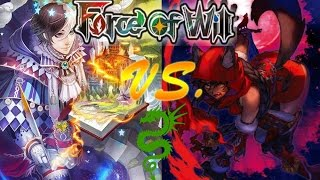 Force of Will (TCG) Feature Match: Odd Grimm Agro vs Little Red Werewolves