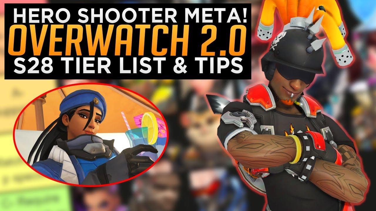 Overwatch 2.0 is Already HERE! - The Hero Shooter Meta - Season 28 Tier List