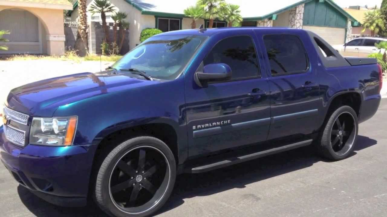 2007 CHEVROLET AVALANCHE CUSTOM  BETTER PERFORMANCE AND GAS SAVER