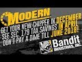 Chipper Christmas: Brand New Bandit Now, Don't Pay Till June 2018!