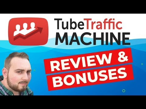 Tube Traffic Machine Review & Custom Bonuses. http://bit.ly/2MJ2nrE