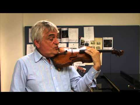 The Violin Channel | Professor Ole Bohn | Teaching Masterclass | Part 2 of 4 | Arm Vibratro