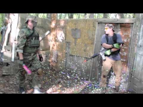 Viperville Airsoft Field Action Footage - 10/11/15 - PARTY KILL!