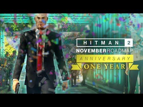 Hitman 2 празднует годовщину и получает последние обновления