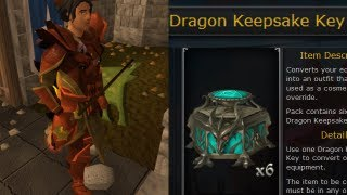 Dragon Keepsake Key - Complete Information