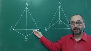 Тема 11 Урок 3  Третя ознака рівності трикутників Задача 3 - Геометрія 7 клас