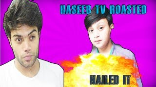 THE HASEEB TV ROASTED COPYING DUCKY BHAI