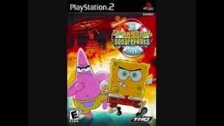 Spongebob movie game music Rock slide