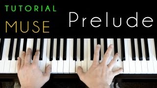 Muse - Prelude (piano tutorial & cover)