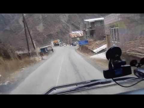 Армения. Дорога  на  Грузию.