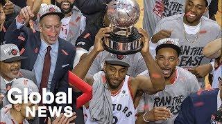 Toronto Raptors defeat Milwaukee Bucks in 6 games in Eastern Conference Finals