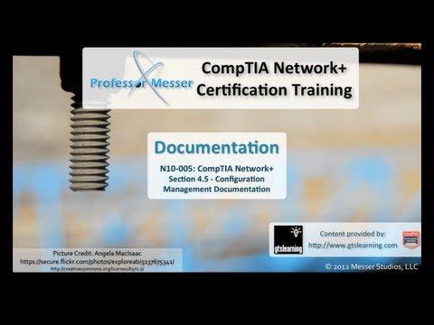 Documentation - CompTIA Network+ N10-005: 4.5