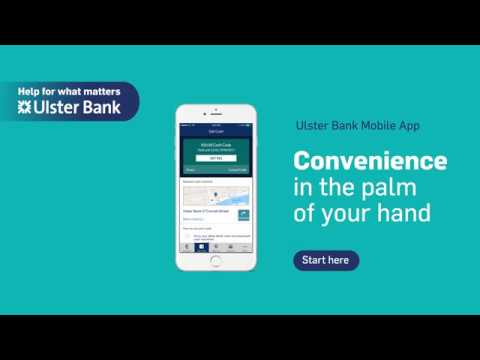 Get Cash with the Ulster Bank App.