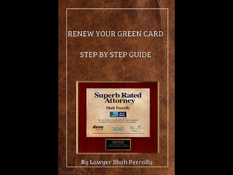Renew Your GreenCard | Step by Step Guide on Form I-90
