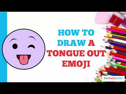 how-to-draw-a-tongue-out-emoji-in-a-few-easy-steps:-drawing-tutorial-for-kids-and-beginners