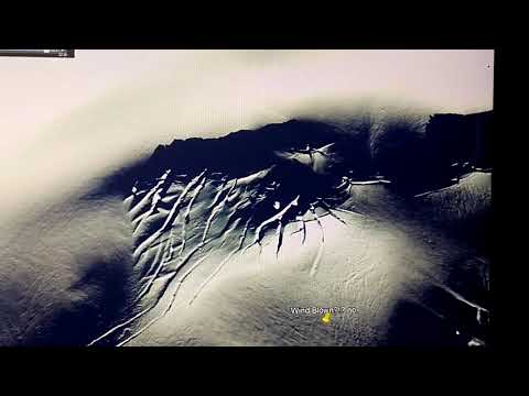 ANTARCTICA MOUNTAINS COVERED IN EXPOSED VEINS OF GOLD(!)ENOR