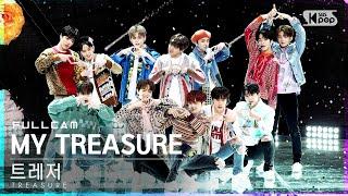 [안방1열 직캠4K] 트레저 'MY TREASURE' 풀캠 (TREASURE Full Cam)│@SBS Inkigayo_2021.01.17.