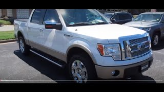 2012 Ford F-150 Lariat Walkaround, Start up, Tour and Overview