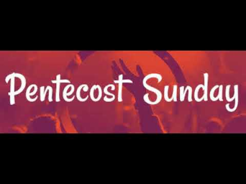 Pentecost Sunday at St Martin's Church.