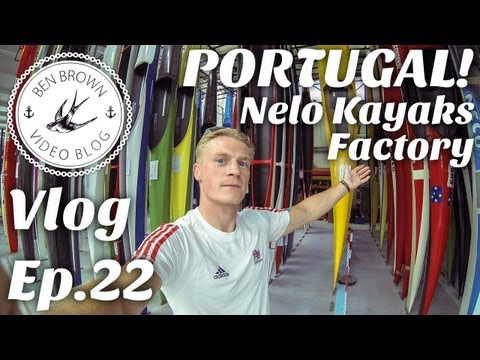 Fly to Portugal, see Nelo Factory, stay in swanky hotel. - Ben Brown Vlog ∆ Ep.22