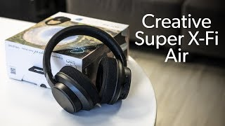 Creative Super X-Fi Air unboxing