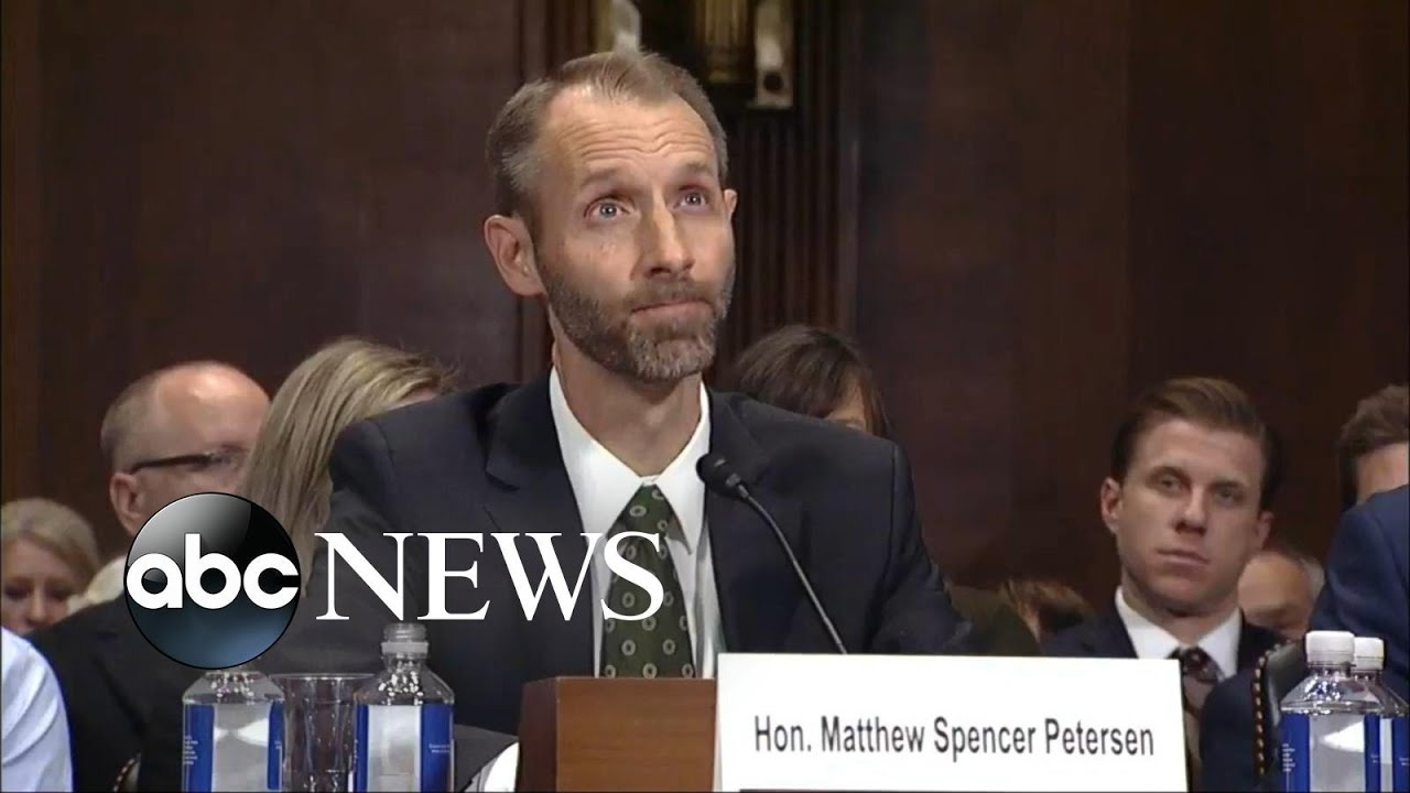 Judicial nominee struggles to answer basic legal questions