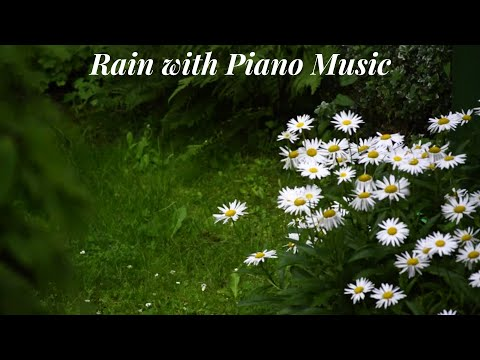 Relaxing Piano Music With Rain Sound - Sleep Music, Study Music, Stress Relief 🌦🌧⛈