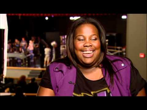 GLEE star Amber Riley speaks