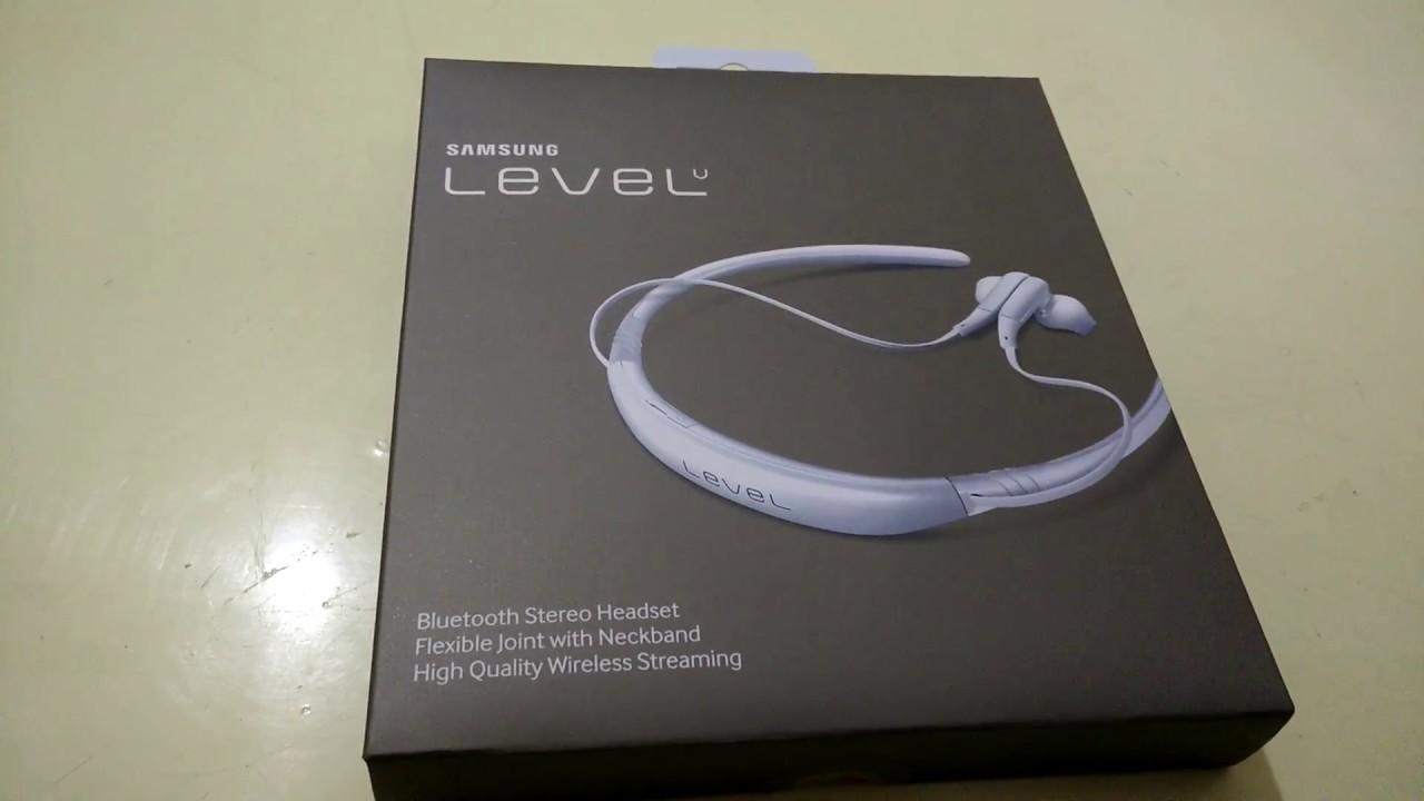 Samsung Level U Eo Bg920 Bluetooth Headset With Qualcomm Aptx Full Hd Youtube