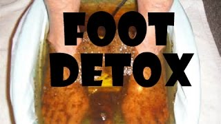 Foot Detox- Juice Fast Results Day 64