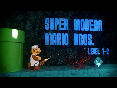 Fan video reimagines Super Mario Bros, as made in 2013