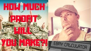Ebay Fee Calculator - How Much Profit Will You Make