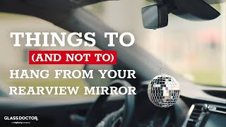 8 Classic Things to Hang From Your Rearview Mirror