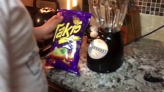 DIY Fry chicken with takis cooking 6