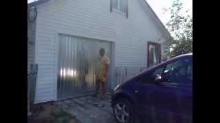 подъемные ворота для гаража.(, 2013-07-01T10:20:37.000Z)