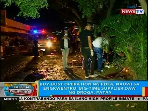 BP: Buy-bust operation ng PDEA, nauwi sa engkwentro