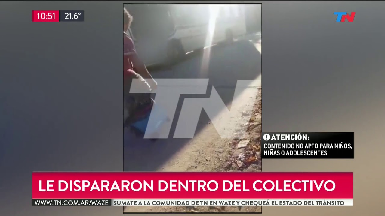 El Video Del Asesinato Del Chofer De Colectivo