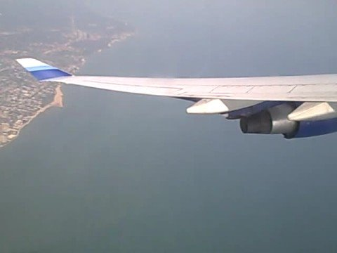 United B747-400 Take Off from Chicago O'Hare FULL