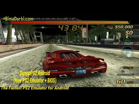 PS2 Android) Burnout 3 Takedown | DamonPS2 Pro Android | The
