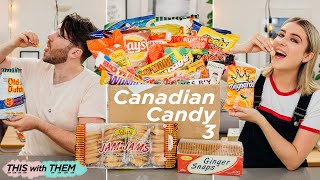 British People Trying Canadian Snacks - This With Them