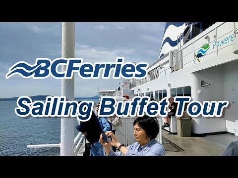 BC Ferries Tour: Vancouver To Victoria Sailing and Buffet