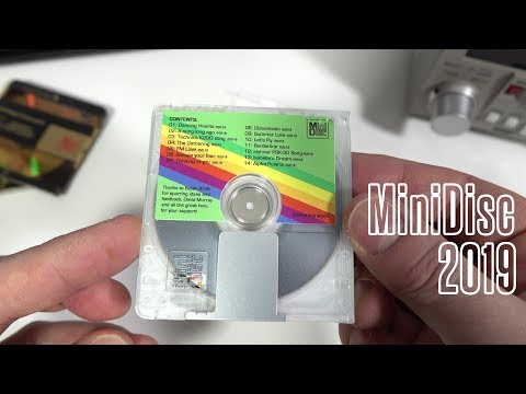 A New MiniDisc Album...in 2019