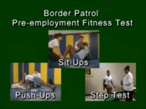 Border Patrol Agent - Fitness Exam Video - YouTube